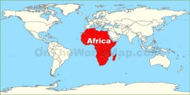 Africa location map