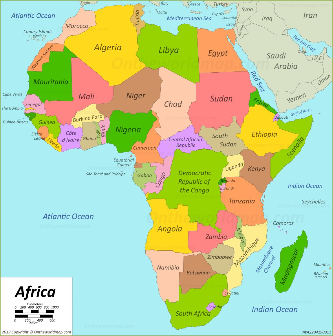 Map Of The Africa Africa Map | Maps of Africa