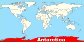 Antarctica location map