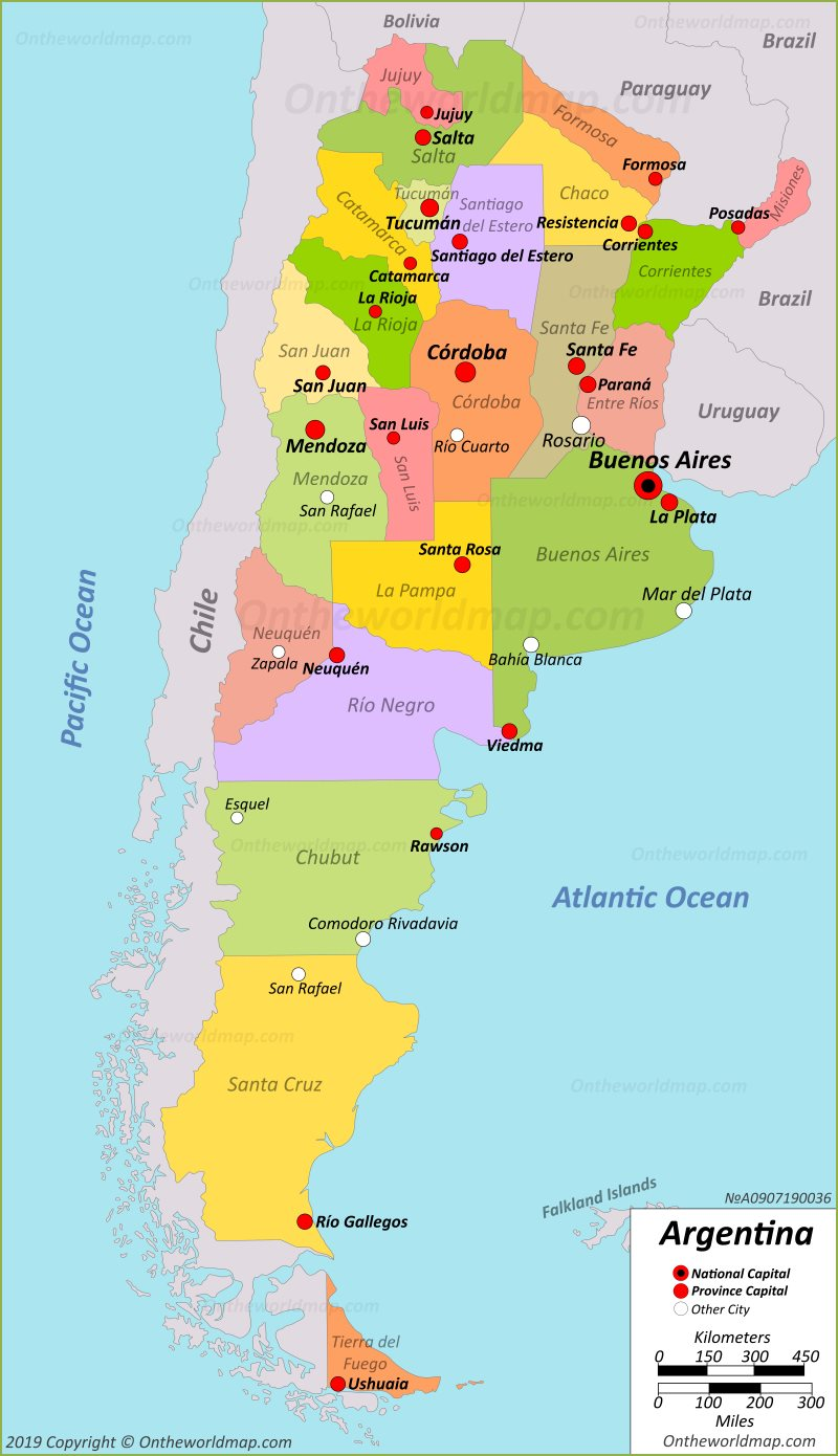 Argentina Maps | Maps of Argentina