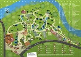 Adelaide Zoo map