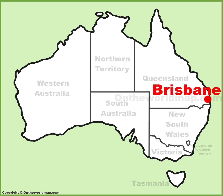Brisbane Australia Map Brisbane Maps | Australia | Maps of Brisbane Brisbane Australia Map