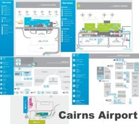 Cairns airport map