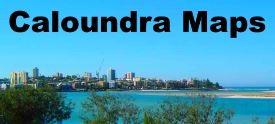 Caloundra maps