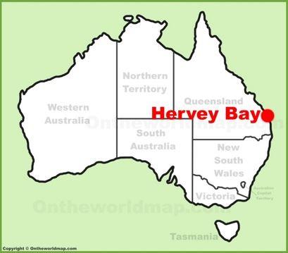 Hervey Bay Map Hervey Bay Maps | Queensland, Australia | Maps of Hervey Bay