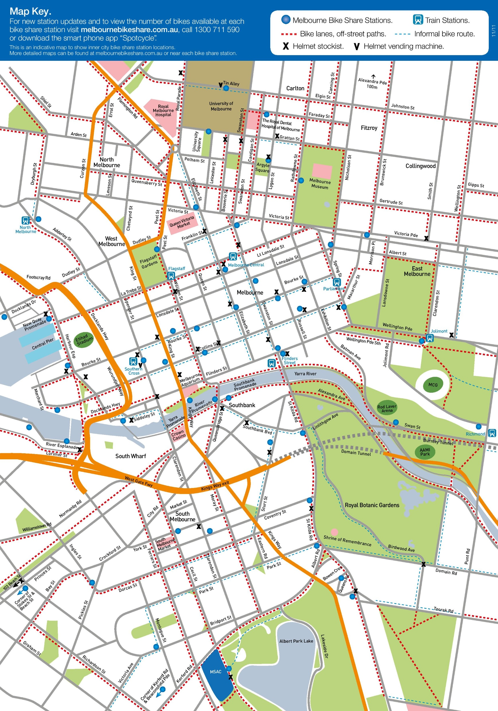MELBOURNE BIKE PATHS EPUB