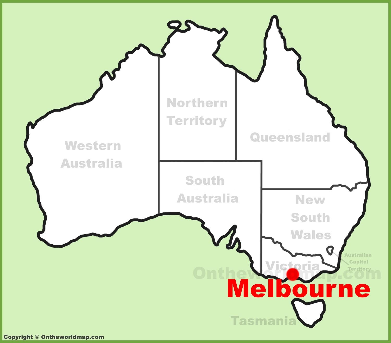 Map Of Melbourne Australia Melbourne Maps | Australia | Maps of Melbourne Map Of Melbourne Australia