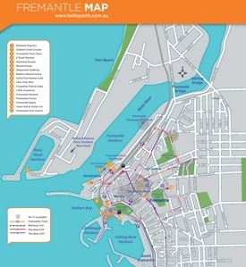 Fremantle map