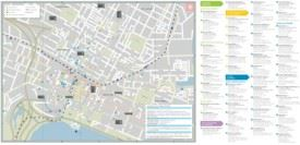 Perth shopping map