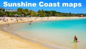 Sunshine Coast maps