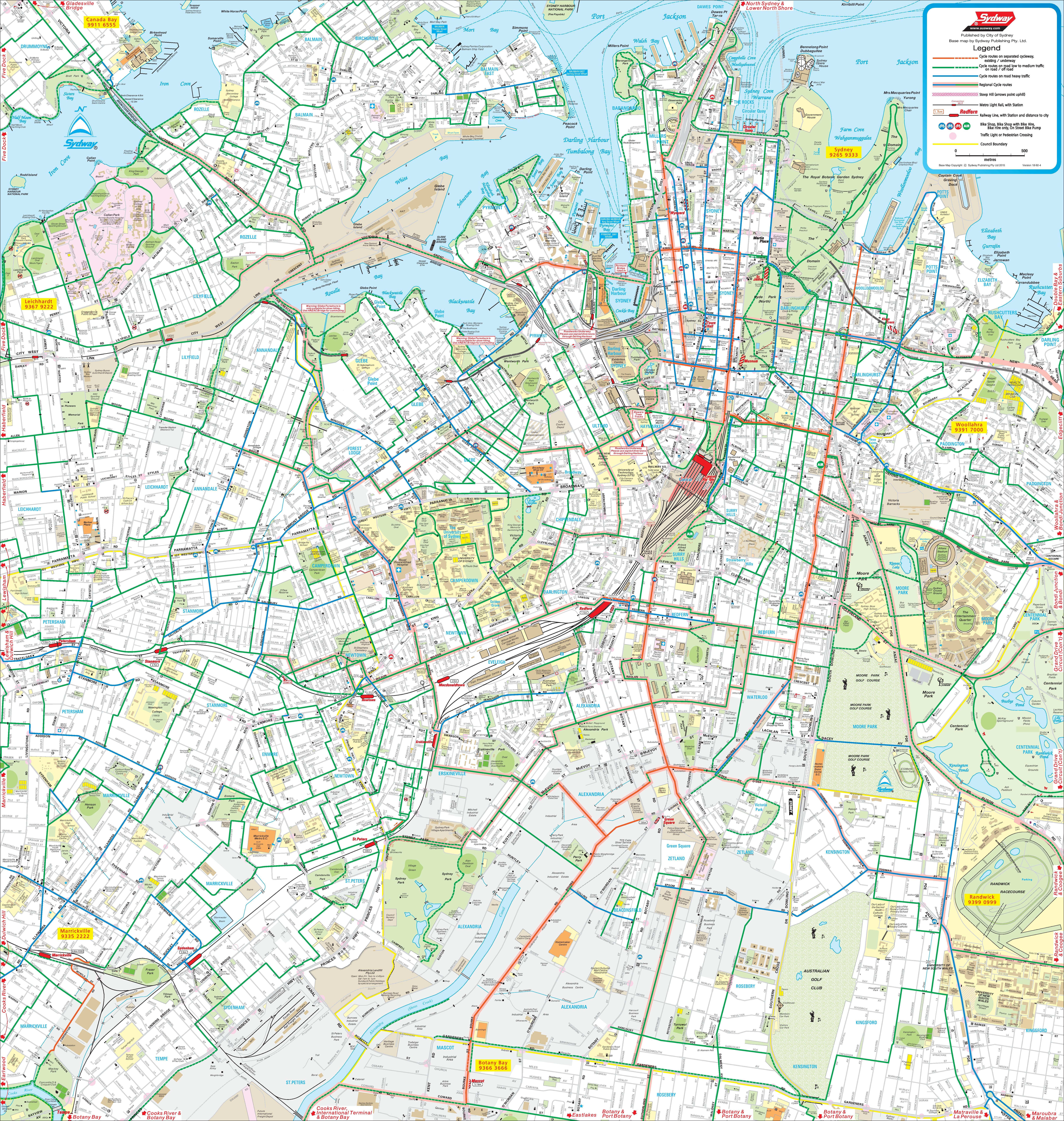 Sydney Maps Australia Maps of Sydney