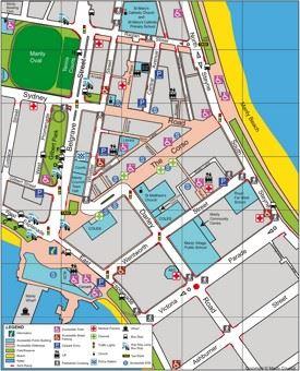 Sydney CBD map