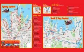 Sydney sightseeing map
