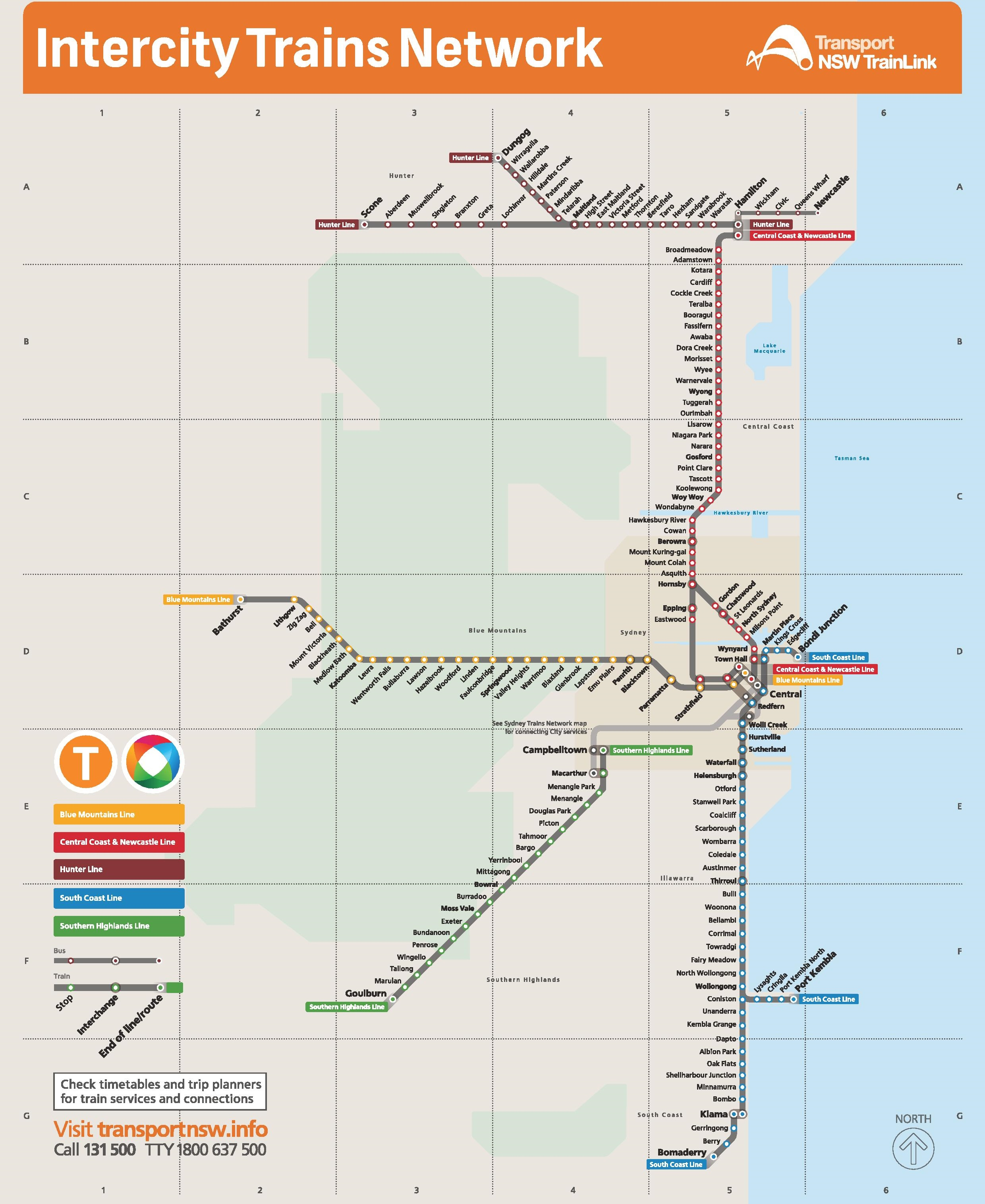 Sydney maps australia maps of sydney sydney train map sciox Image collections