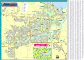 Townsville street map
