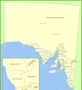 South Australia State Maps Australia Maps of South Australia SA