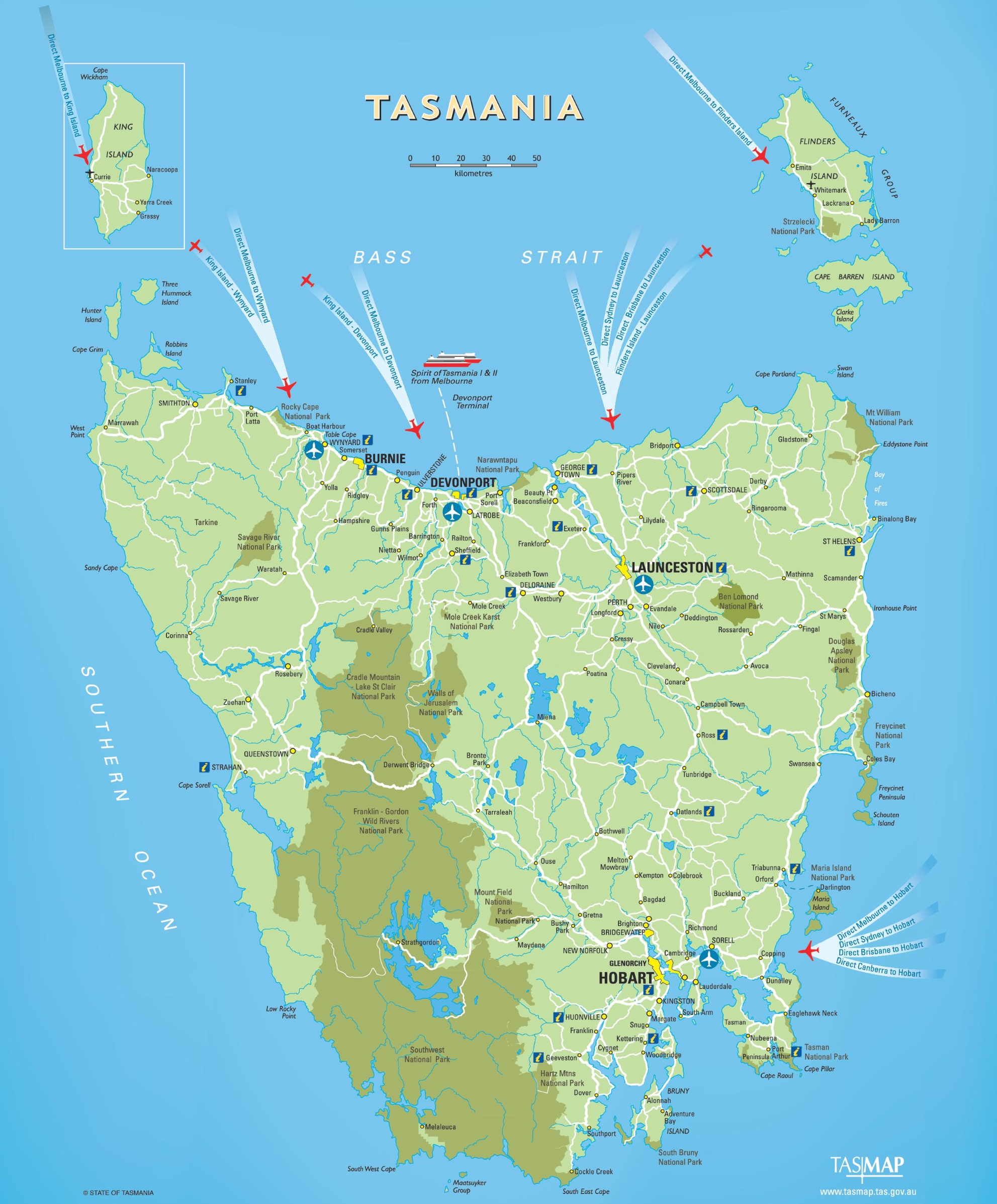 Tasmania Maps | Australia | Maps of Tasmania (TAS) on nigeria world map, tanzania world map, major deserts of the world map, crimea world map, manitoba world map, north island world map, bowen world map, minorca world map, gulf of carpentaria world map, indonesia world map, new guinea world map, hobart world map, bismarck archipelago world map, australia world map, flinders island world map, philippines world map, cambridge world map, cape barren island world map, bass strait world map, new zealand world map,