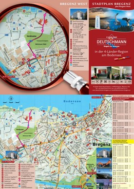 Bregenz tourist map
