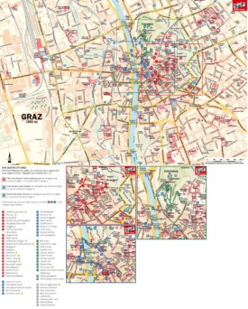 Graz tourist attractions map