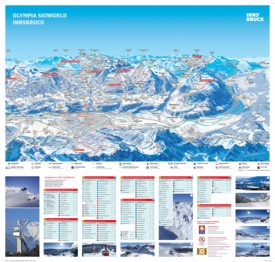 Innsbruck ski map
