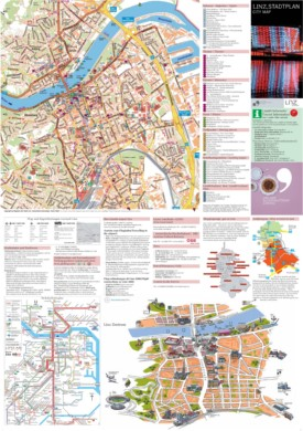 Linz tourist attractions map