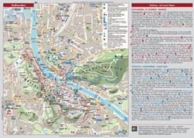 Salzburg sightseeing map