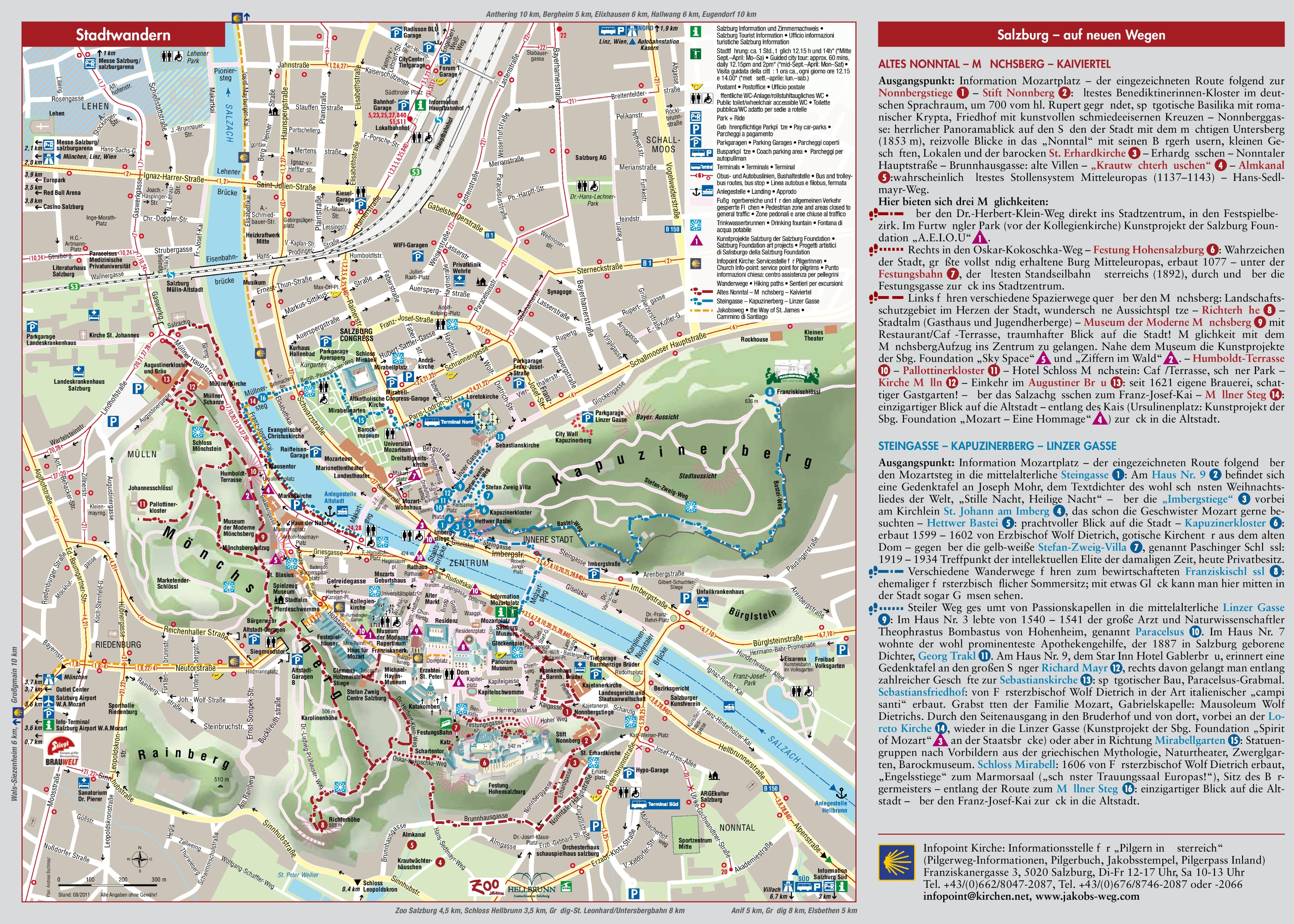Salzburg sightseeing map salzburg sightseeing map gumiabroncs Images