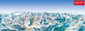 Salzburg ski map
