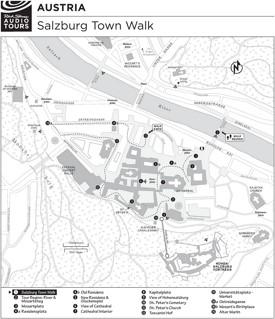 Salzburg Maps Austria Maps of Salzburg