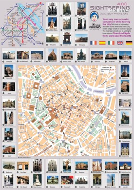 Vienna sightseeing map