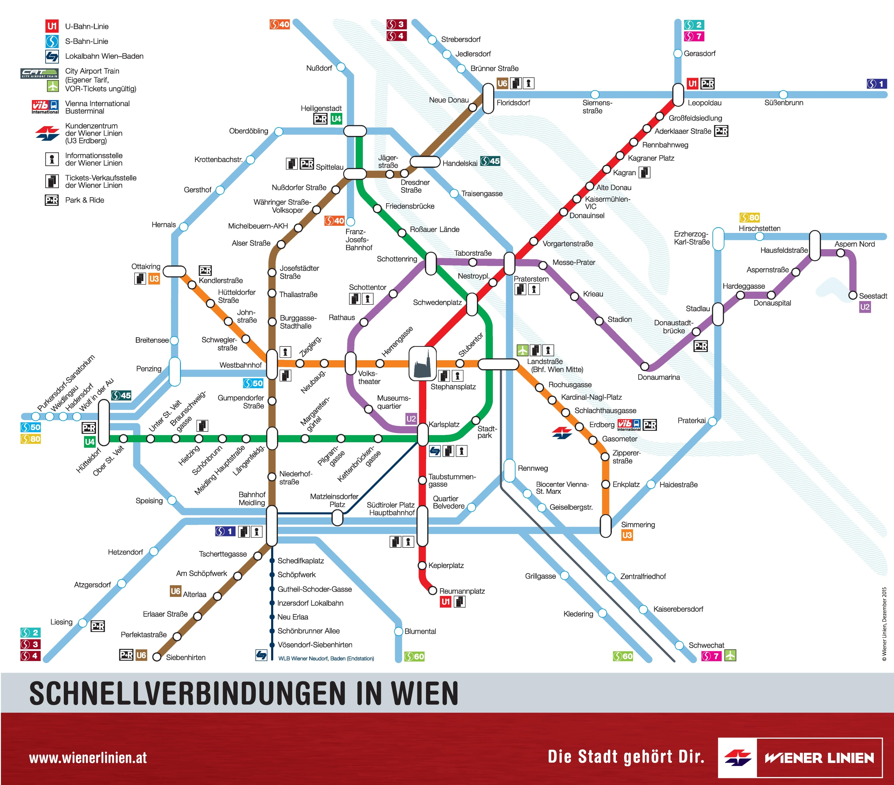 Vienna UBahn And SBahn Map - Berlin us bahn map