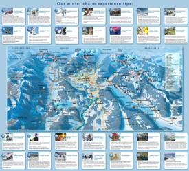Villach ski map