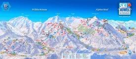 Alpbach ski map