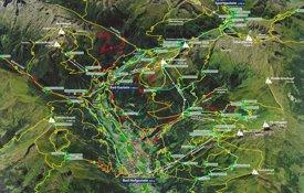 Bad Gastein summer map