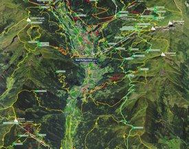 Bad Hofgastein summer map