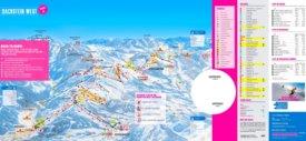 Dachstein-West ski map