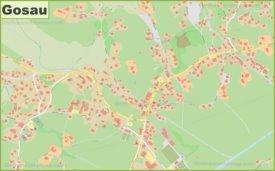 Detailed map of Gosau