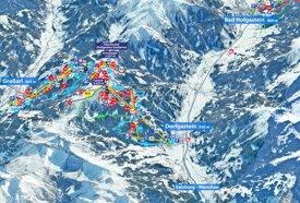Dorfgastein ski map