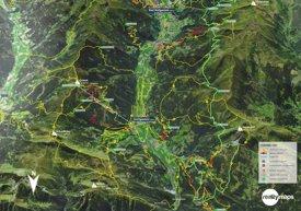 Dorfgastein summer map