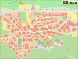 Detailed map of Ellmau