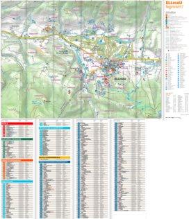 Ellmau hotel map