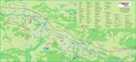 Fieberbrunn tourist map