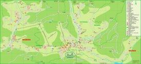 Filzmoos tourist map