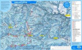 Tourist map of surroundings of Filzmoos