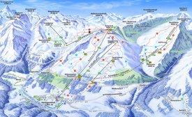 Heiligenblut ski map