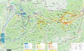 Hochkönig bike map