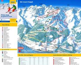 Kappl ski map