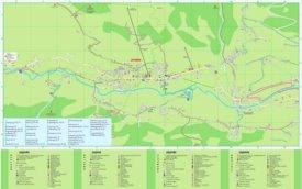 Jochberg tourist map