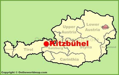 Kitzbühel Location Map