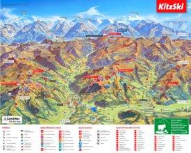 Kitzbühel summer trails map